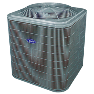 Carrier Comfort 14 heat pump.