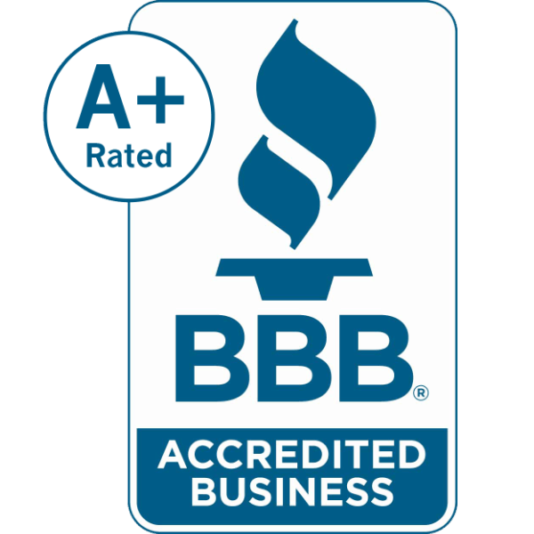 Better Business Bureau A+.